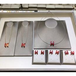 Replica Hermes Necklace & Earrings