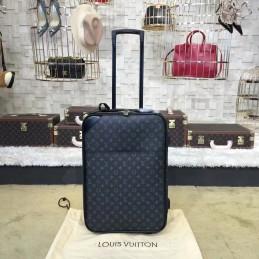 Replica Louis Vuitton Pegase Legere 55 Rolling Luggage