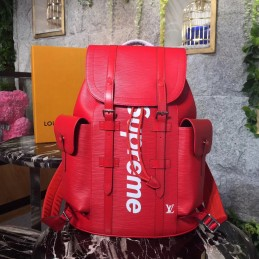 Replica Louis Vuitton Christopher Supreme Backpack