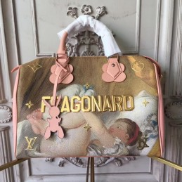 Replica Louis Vuitton  Masters Fragonard Speedy 30