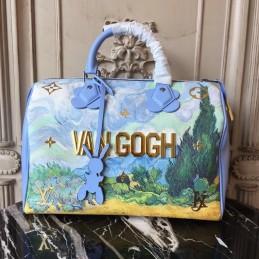 Replica Louis Vuitton  Masters Van Gogh Speedy 30