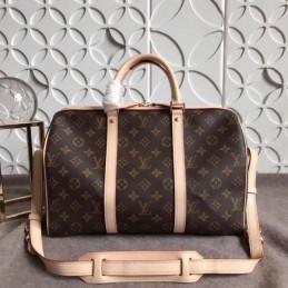Replica Louis Vuitton Supreme Camo Keepall Bandouliere 45