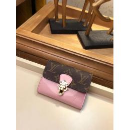 Replica Louis Vuitton Cherrywood Compact Wallet