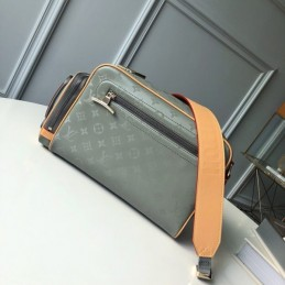 Replica Louis Vuitton Camera Bag Titanium