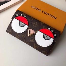 Replica Louis Vuitton Eagle Owl Sarah Wallet