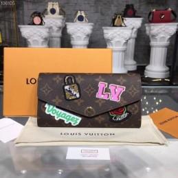 Replica Louis Vuitton Sarah Wallet My LV World Tour