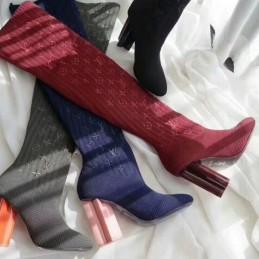 Replica Louis Vuitton Silhouette Ankle Boot