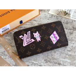 Replica Louis Vuitton Zippy Wallet My LV World Tour