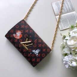 Replica Louis Vuitton Twist Chain Wallet